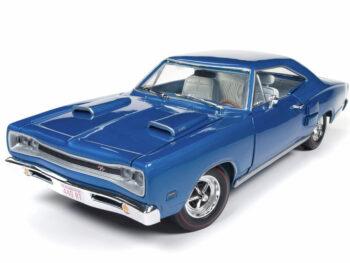 Autoworld Amm1116 1969 Dodge Coronet R/T 1:18 50th Anniversary Blue
