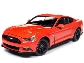 Autoworld Aw242 2016 Ford Mustang GT 5.0 1:18 Orange