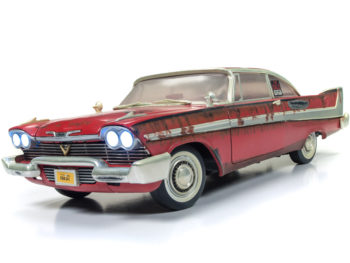 Autoworld AWSS119 Christine 1958 Plymouth Fury 1:18 Dirty Rusted Version