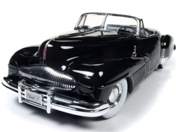 Autoworld Amm1120 1938 Buick Y Job 1:18 Black