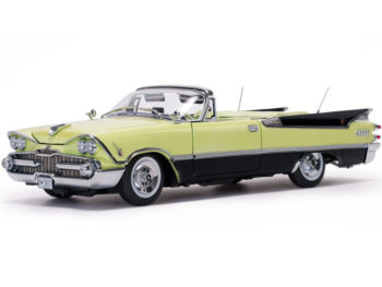 Sun Star 5473 1959 Dodge Custom Royal Lancer Convertible 1:18 Yellow / Black