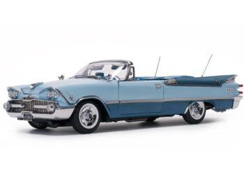 Sun Star 5474 1959 Dodge Custom Royal Lancer Convertible 1:18 Blue