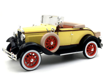 Sun Star 6122 1931 Ford Model A Roadster 1:18 Bronson Yellow