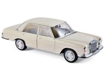 Norev 183569 1968 Mercedes Benz 280 SE 1:18 Ivory