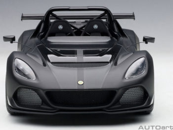 AUTOart 75391 Lotus 3-Eleven 1:18 Matte Black with Gloss Black Accents