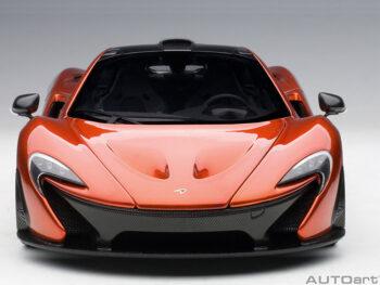 AUTOart 76025 McLaren P1 1:18 Volcano Orange with Orange Calipers