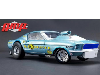 Gmp 18879 Ohio George's 1967 Ford Mustang Malco Gasser 1:18 Blue