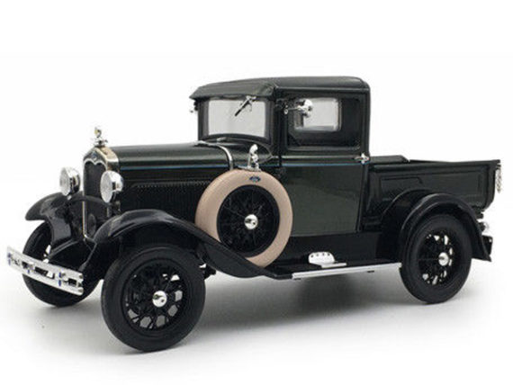 Sun Star 6113 1931 Ford Model A Pick Up Truck 1:18 Gunmetal Gray