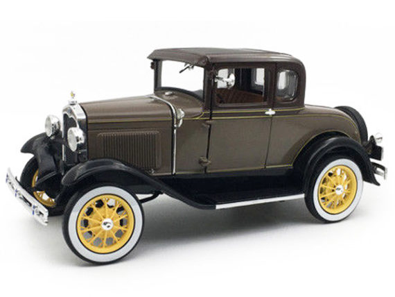 Sun Star 6134 1931 Ford Model A Coupe 1:18 Stone Brown