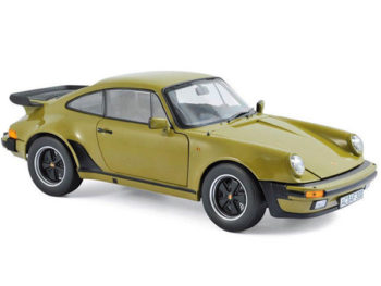 Norev 187575 1977 Porsche 911 Turbo 3.3 1:18 Olive Green