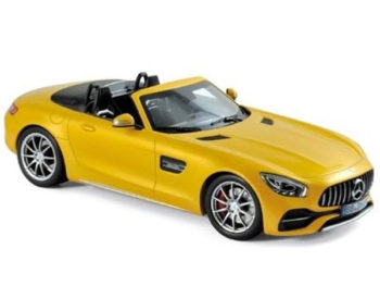 Norev 183451 2017 Mercedes Benz AMG GT C Roadster 1:18 Yellow