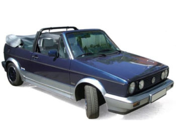 Norev 188404 1992 VW Volkswagen Golf Cabriolet Bel Air 1:18 Blue Metallic