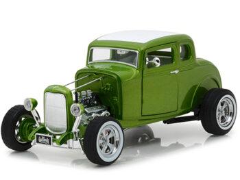 Greenlight 12974 Gas Monkey Garage Hot Rod 1932 Ford Custom 1:18 Green