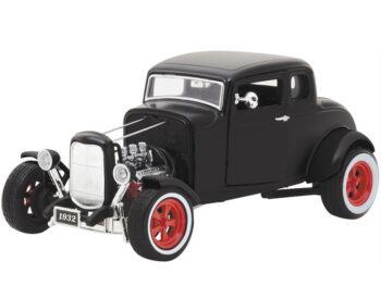 Greenlight 12975 Hot Rod 1932 Ford Custom 1:18 Matte Black