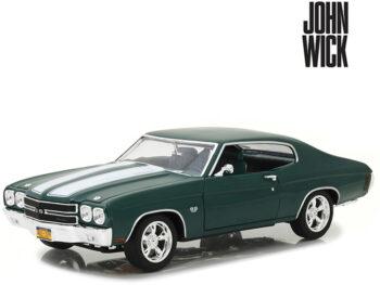 Greenlight 13505 John Wick Movie 1970 Chevrolet Chevelle SS 396 1:18 Green