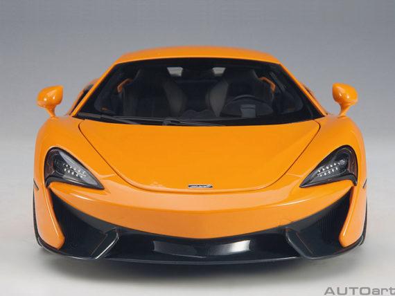 AUTOart 76044 McLaren 570S 1:18 Orange with Silver Wheels