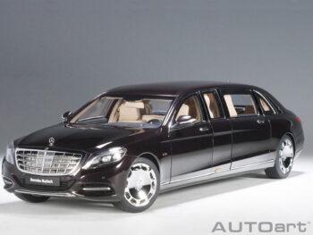 AUTOart 76299 Mercedes Benz Maybach S 600 Pullman Limo 1:18 Dark Red Metallic