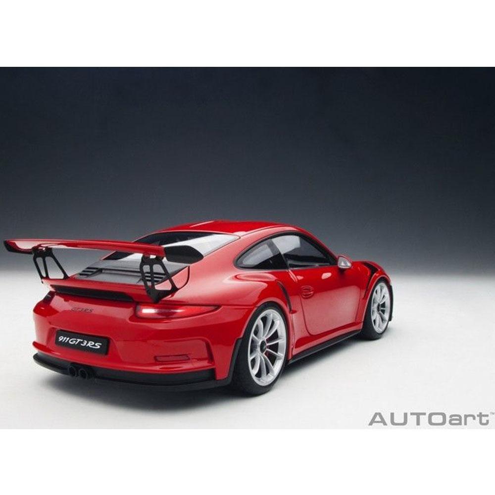 Porsche 911 Gt3: AUTOart 78165 Porsche 911 991 GT3 RS 1:18 Red With Silver