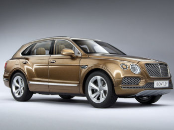 Kyosho 08921 BZ Bentley Bentaya 1:18 Bright Bronze