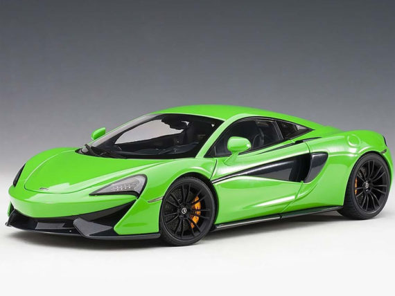AUTOart 76042 McLaren 570S 1:18 Mantis Green with Black Wheels
