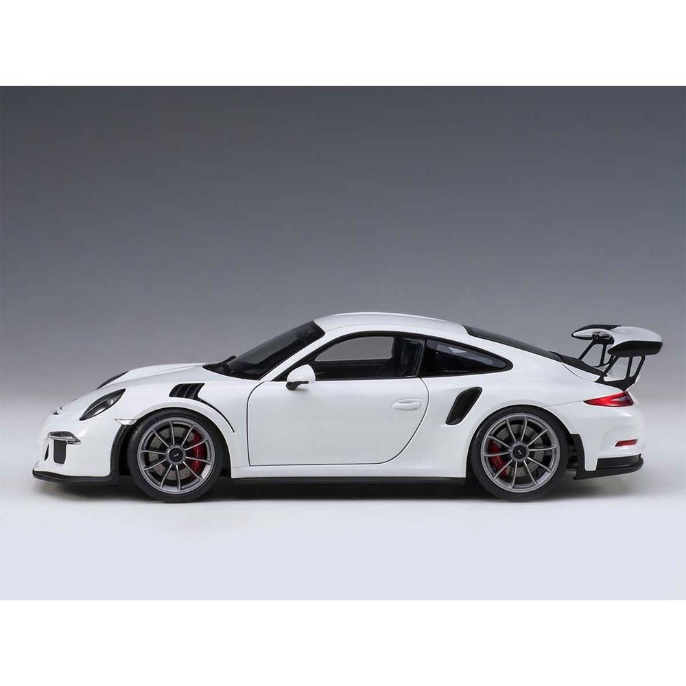 I Scale 1 18 2018 Mercedes Benz Glc Coupe White: AUTOart 78166 Porsche 911 991 GT3 RS 1:18 White With Dark