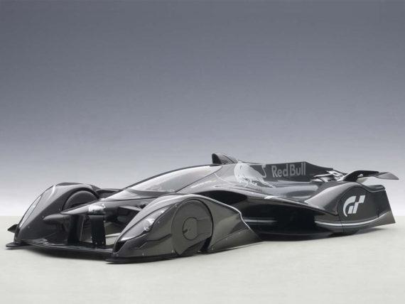 AUTOart 18116 Red Bull X2014 Fan Car 1:18 Sebastian Vettel Dark Silver