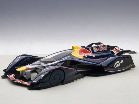 AUTOart 18118 Red Bull X2014 Fan Car 1:18 Sebastian Vettel Red Bull Color