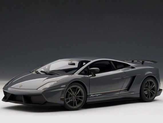AUTOart 74657 Lamborghini Gallardo LP570-4 Superleggera 1:18 Metallic Grey