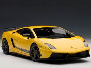 AUTOart 74658 Lamborghini Gallardo LP570-4 Superleggera 1:18 Metallic Yellow