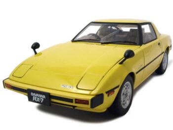 AUTOart 75983 Mazda RX-7 (SA) Savanna 1:18 Spark Yellow