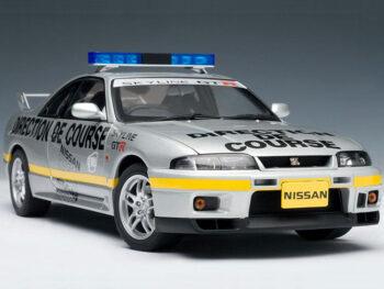 AUTOart 77329 Nissan Skyline GT-R R33 LeMans Pace Car 1997 1:18 Silver