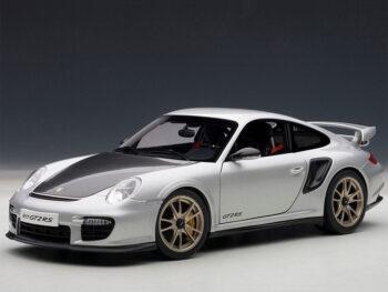 AUTOart 77961 Porsche 911 997 GT2 RS 1:18 Silver