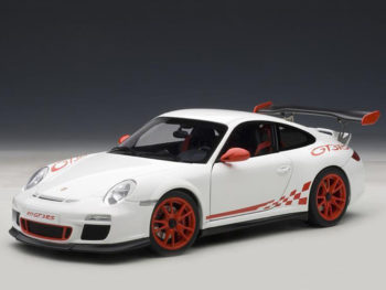 AUTOart 78143 Porsche 911 997 GT3 RS 3.8 1:18 White with Red Stripes