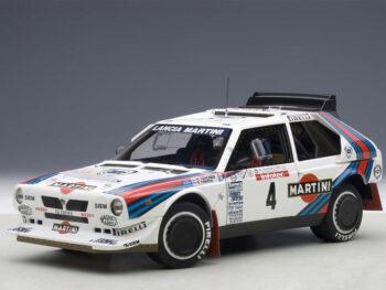 AUTOart 88620 Lancia Delta S4 #4 Martini Tour De Corse 1986 1:18 White
