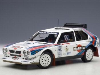 AUTOart 88621 Lancia Delta S4 #5 Martini Rally Winner Argentina 1986 1:18 White