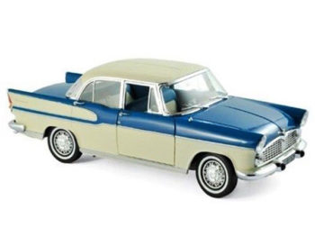 Norev 185727 1960 Simca Vedette Chambord 1:18 Tropic Green / China Ivory
