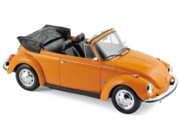Norev 188521 1973 VW Volkswagen Beetle 1303 Cabriolet 1:18 Orange