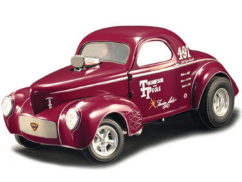 Acme A1800909 Thompson & Poole 1941 Gasser 1:18 Burgundy