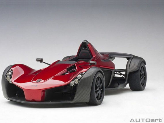 AUTOart 18119 Bac Mono 1:18 Metallic Red