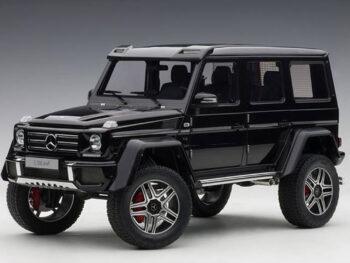 AUTOart 76317 Mercedes Benz G500 4x4 2 1:18 Gloss Black