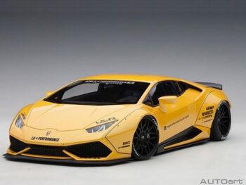 AUTOart 79124 Liberty Walklb Works Lamborghini Huracan 1:18 Yellow
