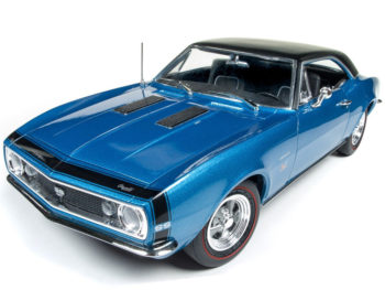 Autoworld Amm1118 Baldwin Motion 1967 Chevrolet Camaro SS 427 1:18 Blue