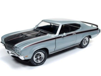 Autoworld Amm1138 Muscle Car & Corvette Nationals 1971 Buick GSX 1:18 Silver