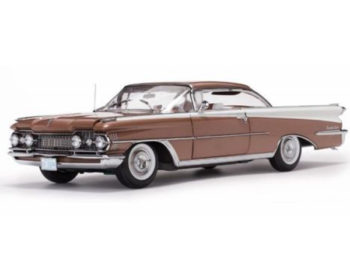 Sun Star 5244 1959 Oldsmobile 98 Hard Top 1:18 Bronze Mist / White