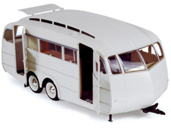 Norev 185726 1955 Henon Travel Trailer 1:18 White