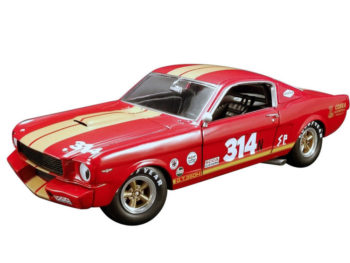 Acme A1801823 Rent A Racer 1966 Shelby GT 350H #314 1:18 Red