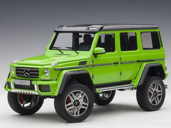 AUTOart 76315 Mercedes Benz G 500 4x4 2 1:18 Alien Green