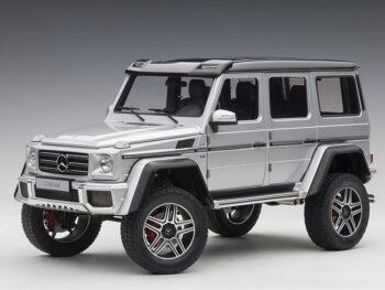 AUTOart 76318 Mercedes Benz G 500 4x4 2 1:18 Silver