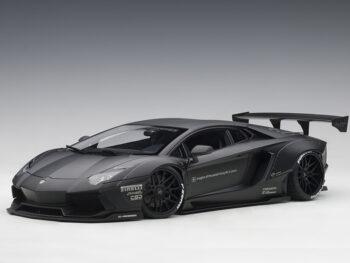 AUTOart 79106 Liberty Walk LB Works Lamborghini Aventador 1:18 Matte Black