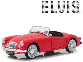 Greenlight 13524 Blue Hawaii Elvis Presley 1959 MG A 1600 Roadster MKI 1:18 Red